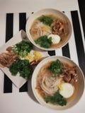 Alimento vietnamiano de Pho BO fotos de stock royalty free