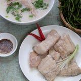 Alimento vietnamiano, sopa dos peixes Imagens de Stock Royalty Free