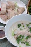 Alimento vietnamiano, sopa dos peixes Fotografia de Stock