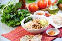 Alimento vietnamita Fotografie Stock Libere da Diritti