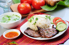 Alimento vietnamita Fotografía de archivo
