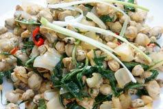 Alimento vietnamita, cozza, carta di riso, cibo del Vietnam Fotografie Stock Libere da Diritti