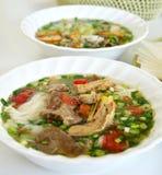 Alimento vietnamita di stile Fotografia Stock Libera da Diritti