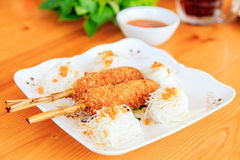 Alimento vietnamita oiy di gioco di parole di Kung Fotografie Stock Libere da Diritti