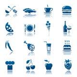 Alimento y bebida Stock de ilustración