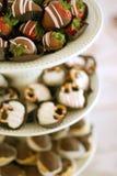 Alimento y convites Fotografía de archivo libre de regalías