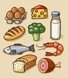 Alimentos Foto de Stock Royalty Free