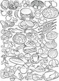 alimentos Imagens de Stock Royalty Free