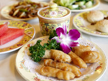 Alimentos chineses fotografia de stock royalty free