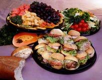 Alimentos da restauração Imagem de Stock Royalty Free