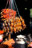 Alimentos da rua em todo o mundo imagens de stock