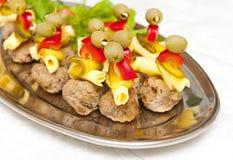 Alimentos de dedo Fotografia de Stock