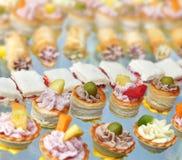 Alimentos de dedo Fotos de Stock Royalty Free