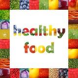 Alimentos de Healhy Imagens de Stock