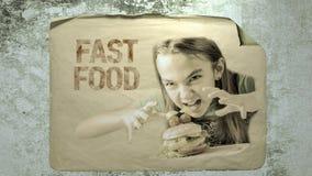 Alimentos de preparación rápida metrajes