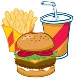 Alimentos de preparación rápida Imagen de archivo libre de regalías