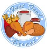 Alimentos de preparación rápida imagenes de archivo