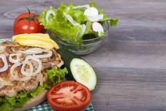 Alimentos de preparación rápida - almuerzo Fotos de archivo