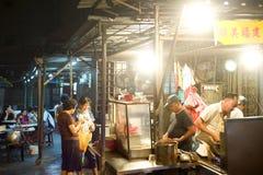 Alimentos de preparación rápida de la calle Fotografía de archivo