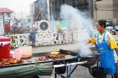 Alimentos de preparación rápida de Tailandia Imagenes de archivo