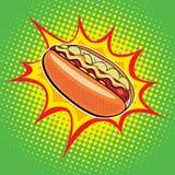 Alimentos de preparación rápida del perrito caliente Fotos de archivo libres de regalías