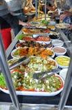 Alimentos de preparación rápida sanos Foto de archivo