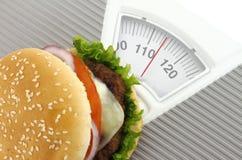 Alimentos de preparación rápida y dieta imagen de archivo