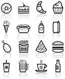 Alimentos de preparación rápida Imágenes de archivo libres de regalías
