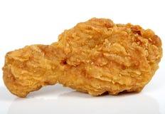 Alimentos de preparación rápida fritos, pollo de resorte en talud de oro del limón Fotografía de archivo