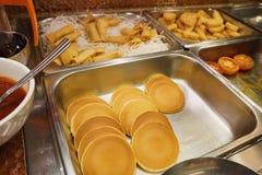 alimentos do bufete Foto de Stock Royalty Free