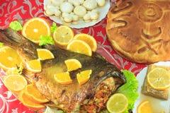 Alimentos do feriado Imagens de Stock