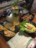 Alimentos do Local de Danang imagem de stock royalty free