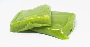 Alimentos especializados verdes do bolo de arroz de Vietname imagem de stock