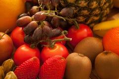 Alimentos frescos para o café da manhã imagem de stock