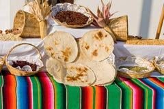 Alimentos mexicanos tradicionales Foto de archivo libre de regalías