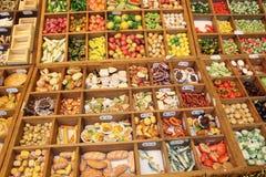 Alimentos miniatura Imagen de archivo