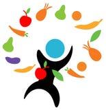 Alimentos naturais Imagem de Stock
