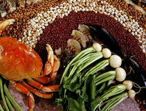 Alimentos orientais Fotografia de Stock