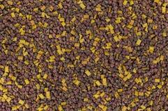 Alimentos para animais de estimação em um montão, alimentação da textura fotografia de stock royalty free