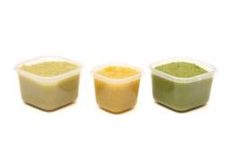 Alimentos para niños hechos en casa Fotografía de archivo libre de regalías