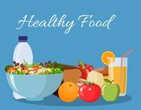 Alimentos que ajudam cuidados médicos Dieta para a vida Fotos de Stock
