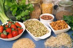 Alimentos sanos Imagenes de archivo