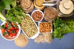 Alimentos sanos foto de archivo