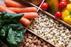 Alimentos sanos Imagen de archivo