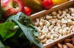 Alimentos sanos Imágenes de archivo libres de regalías