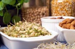 Alimentos saudáveis imagens de stock