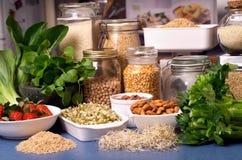 Alimentos saudáveis Foto de Stock Royalty Free