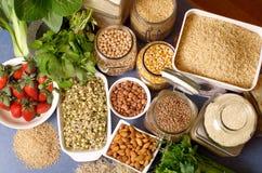 Alimentos saudáveis Imagem de Stock