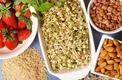 Alimentos saudáveis fotos de stock royalty free