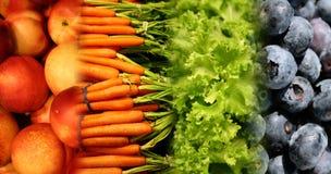 Alimentos saudáveis Fotografia de Stock